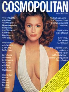 February 1976, Lauren Hutton for Cosmopolitan.