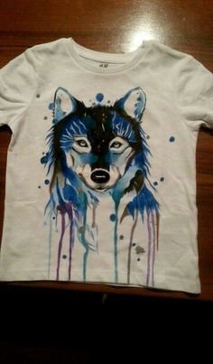 Hand painted T-shirt More