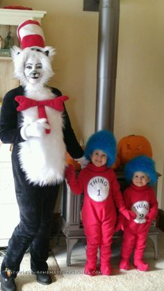 12 DIY Dr. Seuss Costume Ideas for Kids! Amazing Dr Seuss costumes kids will love to wear and that are EASY for parents to make! Cat in the Hat u2026  sc 1 st  Pinterest & 12 DIY Dr. Seuss Costume Ideas for Kids! Amazing Dr Seuss costumes ...