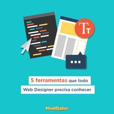 Conheça 5 ferramentas que podem ajudar seu trabalho como #WebDesign