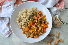 Kichererbsen-Erdnuss-Curry von thegreenbowl