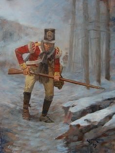 British 28th Foot during the Retreat to Corunna-Keith Rocco