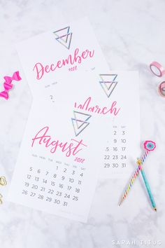 Create the focused life you want with these printable calendars. Use them for menu planning, homeschooling, blogging, or just to organize your life.