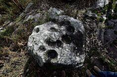 O secreto escondido na Pedra Leirada (II): o petróglifo agochado
