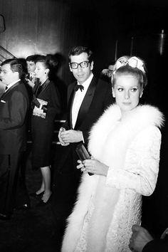 Roger Vadim e Catherine Deneuve, 1963