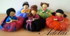 plstěné panenky