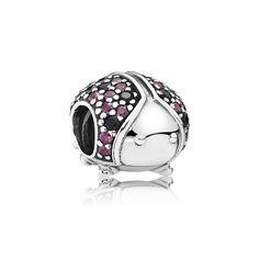 Sparkling Ladybug, Fancy Red CZ & Black Crystal | PANDORA Je