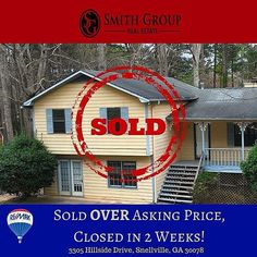 Sold OVER Asking Price, Closed in 2 Weeks!