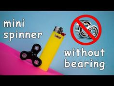 HOW TO MAKE SPINNER WITHOUT BEARINGS - YouTube