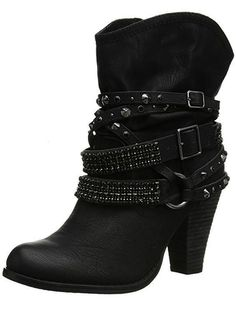 Women's Swanky Boot - Black - - Women's Shoes, Boots, Ankle & Bootie & Bootieshoes Source by stepantatjana boots Ankle Strap Heels, Ankle Straps, Ankle Booties, Leather Booties, High Heel Boots, Heeled Boots, Shoe Boots, Women's Shoes, High Heels