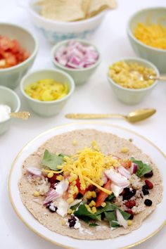 { veggie } taco night is my fave...