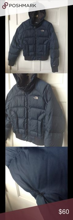 NORTHFACE 550 winter jacket In good condition, small flaw in sleeve, sewn. It's minor. Size S The North Face Jackets & Coats Puffers
