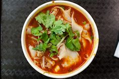 New York: mount qi pork noodles