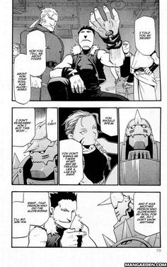 Manga Fullmetal Alchemist - Chapter 27 - Page 21 Aww, Greed at least has some sort of moral code