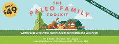 This bundle of #paleo resources from The Paleo Mom and other paleo experts is an amazing deal! Find out more:   The Paleo Family Toolkit: Sign Up Today for Bonus Offers! http://thepaleovangelist.com/paleo-family-toolkit-sign-today-bonus-offers/   #paleo #paleodiet #primal #glutenfree #dairyfree #paleorecipes #paleoresources #realfood #eatrealfood #health #healthy