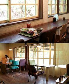 Cafe ハコニワ 森のトンネルの奥にある隠れ家カフェ。家庭の味をアレンジした料理をやちむんで。  沖縄