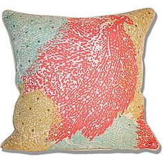 @Overstock - Update your home decor with this colorful sea inspired Marlo Lorenz Coral Pillow. This pillow features a removable, hidden zipper cover and self welt edging details.http://www.overstock.com/Home-Garden/Marlo-Lorenz-Printed-Fan-Coral-Pillow-18-x-18/6580750/product.html?CID=214117 $29.99