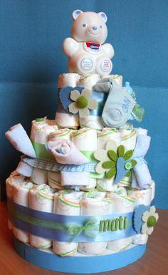 Mani di fata genova » torte di pannolini