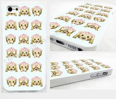 Tie Dye monkey Emoji iPhone 4s,5C,5S,6,6 plus,samsung galaxy glossy cover Case