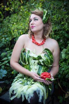 Watermelon Gown - GISHWHES 2013 - Accidental Army - Imgur