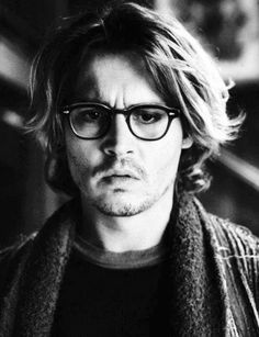 Johnny Depp - Secret Window / Black & White Photography freakin swoon.