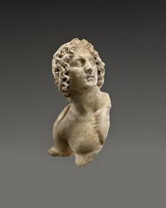 Alexander the Great: Medium: marble Reportedly From: Egypt Dates: 100 B.C.E. – 100 C.E. Period: Late Period to Roman Period