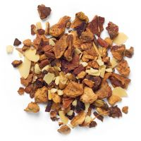 From David's Tea. Called 'Forever Nuts' and has cinnamon, apple pieces, nuts and beet root which turns the tea pink. One of my favorites! Davids Tea, Gourmet Recipes, Dog Food Recipes, Matcha, Almond Tea, Autumn Tea, Tea Blends, My Cup Of Tea, Loose Leaf Tea
