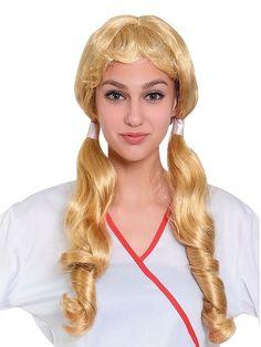 Bristol Novelty Pigtail Wig Long Blonde One Size for sale online Oktoberfest Fancy Dress, Pigtail Wig, Fancy Dress Wigs, Bristol, Lady, Straight Hairstyles, Blond, Party Dress, Costumes