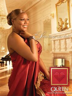 Queen Latifah. Just love this pic of her :)