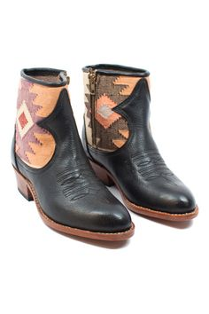 These killer boots are handmade in Guatemala! Spice up your shoes collection by heading over to www.mooreaseal.com