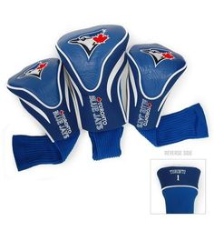Toronto Blue Jays Contour Gollf Club HeadCover - 3 Pack