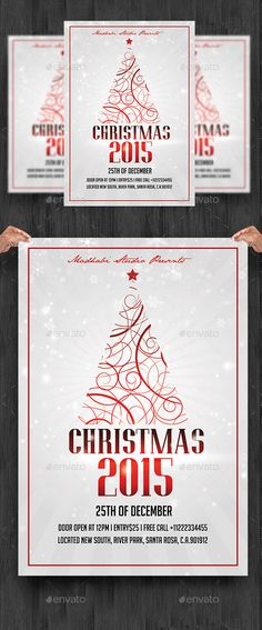 Christmas Flyer Template PSD #design Download: http://graphicriver.net/item/christmas-flyer-template/13583574?ref=ksioks