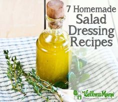 7 Homemade salad dressing recipes