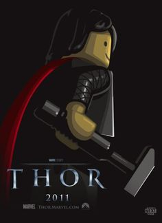 LEGO THOR Film Poster