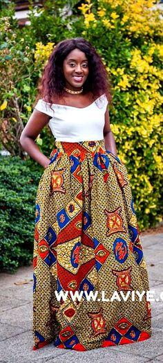 L'AVIYE's African print ankara knee length high waist skirts are handmade from the finest African print. L'aviye African Clothing African Clothing UK Maxi Skirt, African Skirt Ethnic African Clothing African Print Clothing, Loud African Clothing.   Ankara | Dutch wax | Kente | Kitenge | Dashiki | African print bomber jacket | African fashion | African prints | Nigerian style | Ghanaian fashion | Senegal fashion | Kenya fashion | Nigerian fashion | Ankara crop top (affiliate)
