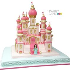 3D Castle Cake | ... , Cakes Decor, Awesome Cakes, Cakes Design, Arabian Castles, 3D Cakes