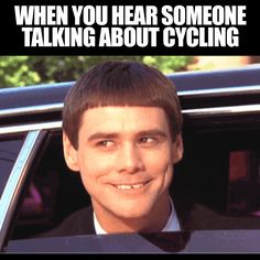 Everyone knows at least one or two people that can locate a bike convo a mile off!