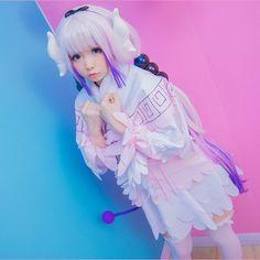 Buy this cosplay here: https://syndromestore.com/products/miss-kobayashis-dragon-maid-anime-kanna-cosplay-sd02250?variant=27092129413&rfsn=510075.e47fd