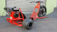 Imagem Drift Trike Motorized, 3rd Wheel, Mini Bike, Go Kart, Metal Working, Cart, Wheels, Beer Cooler, Cool Stuff