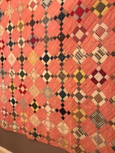 Vintage Quilts - 196 For Sale at Pink Quilts, Old Quilts, Amish Quilts, Antique Quilts, Scrappy Quilts, Easy Quilts, Vintage Quilts, Vintage Fabrics, Rugs