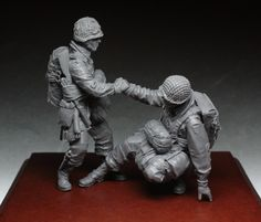 US Paratroopers in 1.35 scale, now available! Click on the pic for more details and FREE Worldwide shipping on all orders of $90 or more