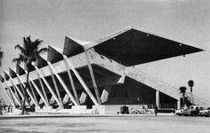 "fuckyeahitsbrutalism: ""Commodore Ralph Munroe Marine Stadium, Miami, Florida, 1960s (Ferendino, Grafton, Skeels & Burnham) """