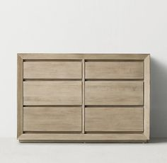 Callum Dresser - Overall: x x Modular Furniture, Luxury Furniture, Teen Dresser, Dressers, Mobiles, Rh Teen, Concrete Table, Oak Table, Modern Armchair