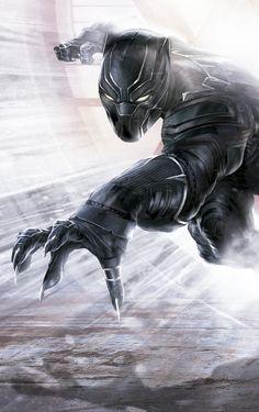 "New ""Team Iron Man"" Promo Art from #CaptainAmericaCivilWar! #blackpanther #marvel #movies"
