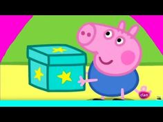 Characters from the Peppa Pig animated series.