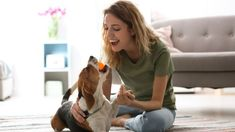 Being stuck inside due to inclement weather is a drag – for you and your dog. Here's some fun brain games to keep you busy until you can get back outdoors! Jack Russell, Fun Brain, Brain Games, Gotcha Day, Golden Retriever, Labrador Retriever, Dog Activities, Guide Dog, Pet Life