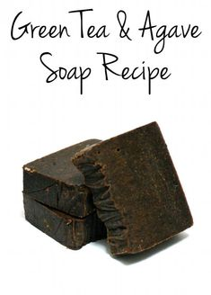 Green Tea & Agave Homemade Cold Process Soap Recipe. This homemade cold process soap recipe is formulated with skin conditioning oils like safflower and evening primrose oils to hydrate dry skin and boasts the antioxidant power of natural green tea. A touch of agave is added for its humectant properties to take dry skin relief one step further. I also used comfrey, calendula and plantain infused olive oil from a previous project for these herbs ability to promote healing. #greentea #soap…