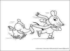 muis in de sneeuw 2