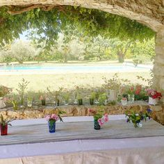 Prepping for my sisters wedding this afternoon. Such a beautiful spot. Ceremony amongst the olive trees later. Love you @saxonandwolf @laurentdelondres