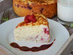 Rýžový nákyp s malinami Cheesecake, Pudding, Food, Cheesecakes, Custard Pudding, Essen, Puddings, Meals, Yemek